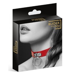 LE COLLIER CUIR FETISH DE...