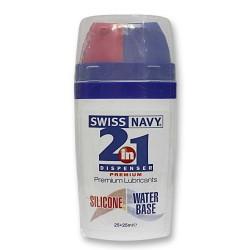 """LUBRIFIANT """"SWISS NAVY"""" 2 EN 1"""