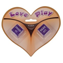 "JEU DE DES ""LOVE PLAY HARD"""