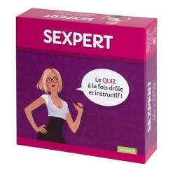 "JEU SEXY QUIZ ""SEXPERT"""