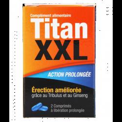 TITAN XXL  2 COMPRIMES