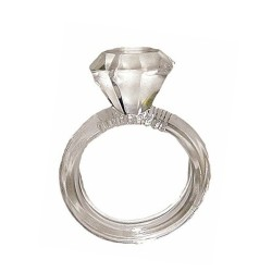 COCKRING FORME DIAMANT